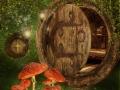 Chatka elfów z muchomorami