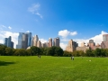 Manhattan skyline from the Central Park