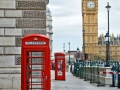 Big Ben and phone booths in London