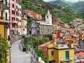 Italian scenery - Riomaggiore village