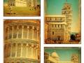 Collage - Pisa, Tuscany - Italy