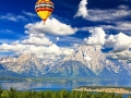 The landscape of Grand Teton National Park