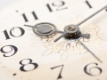clock face, macro