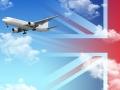Airplane england
